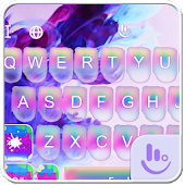 Ink In Water Keyboard Theme