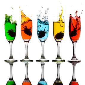 Color Splah by Ananth Eswar - Artistic Objects Glass ( colorsplash, splash, colors, ananth, alphaphotography, anantheswar,  )