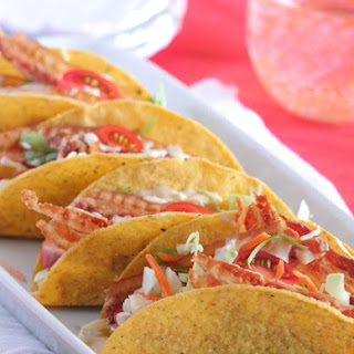 Creamy BLT Ranch Tacos