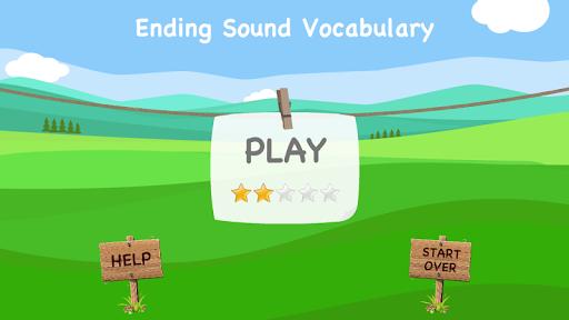 Ending Sound Vocabulary