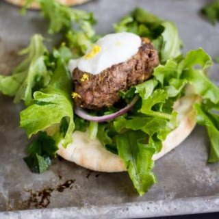 Mini Turkish Kofte Pitas
