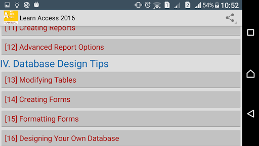 Guide To MS Access 2016 screenshot 6