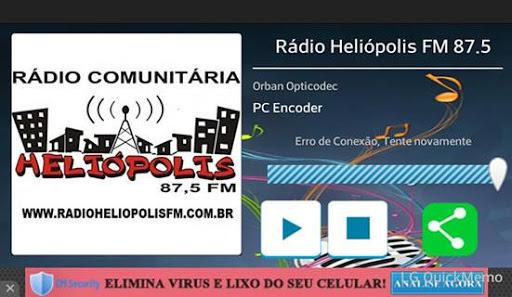 Rádio Heliópolis FM 87.5 screenshot 2