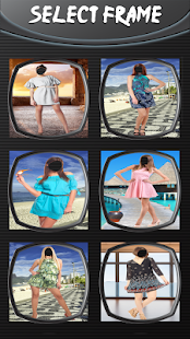 Letní šaty pro holky editor - náhled