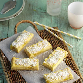Lemon Coconut Cheesecake Bars