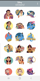 Disney Stickers: Aladdin Screenshot