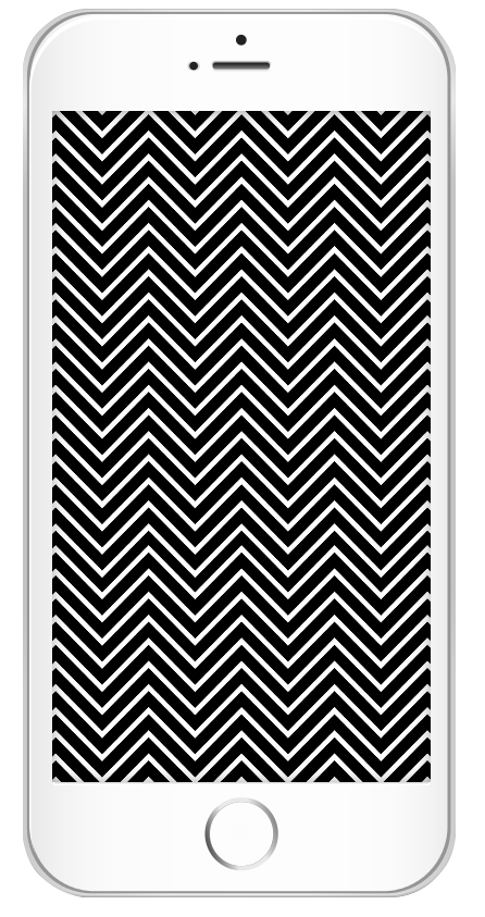 Darmowa czarno-biała tapeta na telefon do pobrania - wzory