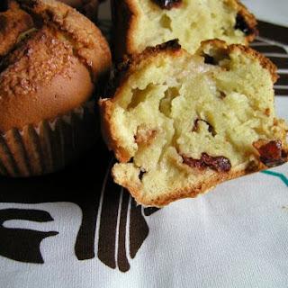 Matcha & Cranberry muffins
