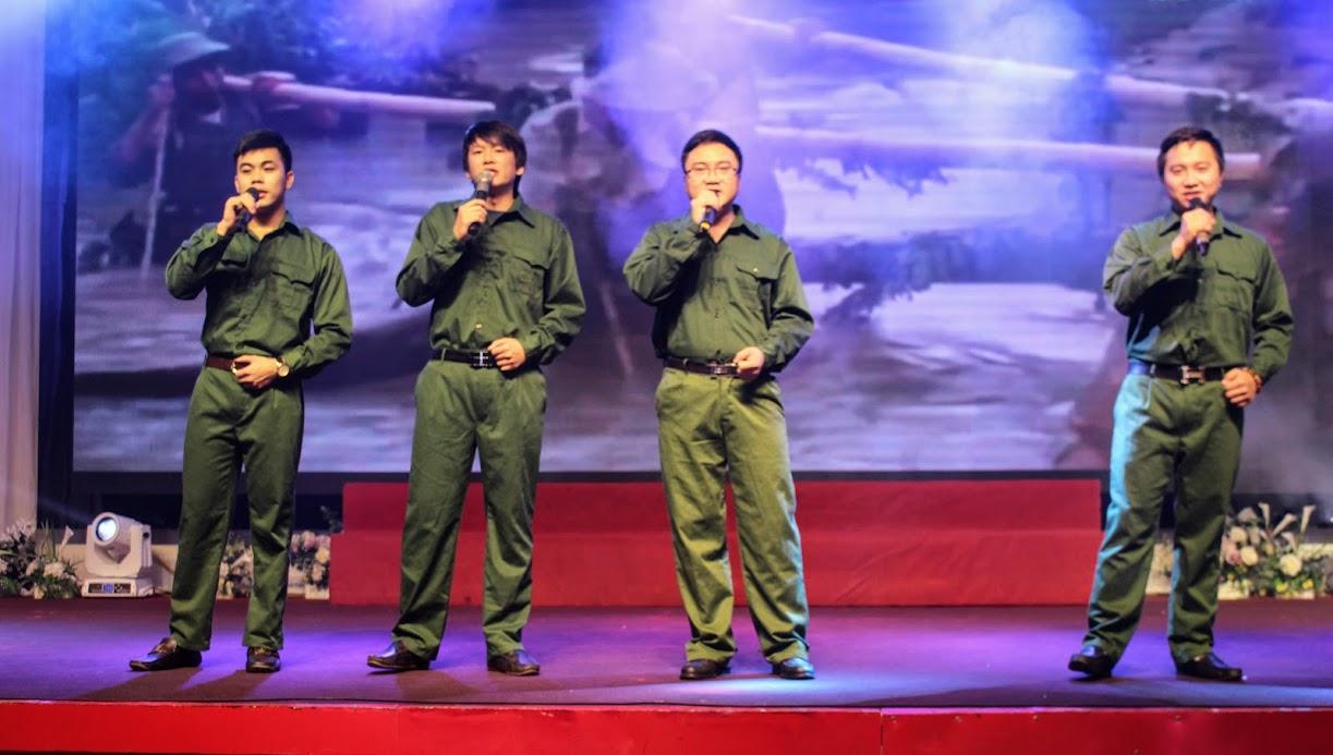 Chương trình văn nghệ tại Hội nghị triển khai kế hoạch năm 2020 của Bưu điện tỉnh Nghệ An