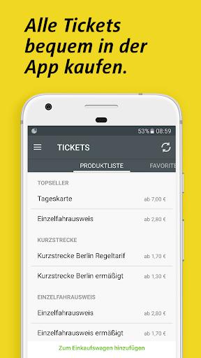 BVG Fahrinfo Berlin 6.7.2 (104) screenshots 4