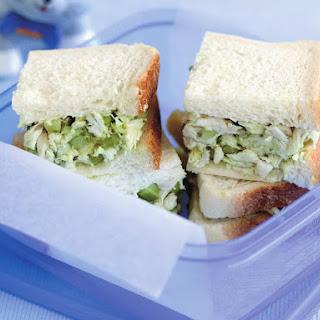 Avocado Chicken Salad Sandwich.