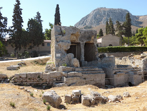 Photo: This is where Saint Paul preached to the Corinthians.