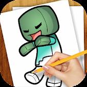 Learn to Draw Minekraft Chibi