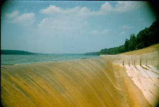 Photo: Spillway July 31st, 1957