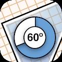 iSetSquare (Geometry angle) icon