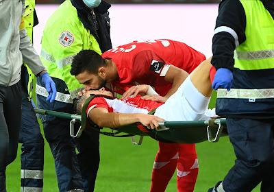 Zinho Vanheusden souffre d'une rupture des ligaments croisés : sa saison est terminée