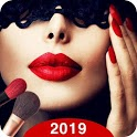 Makeup Camera ❤️ Selfie Beauty Filter Photo Editor icon