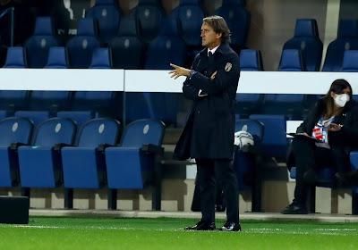 """Roberto Mancini : """"La Belgique fait partie des favoris à la victoire finale"""""""