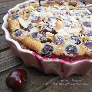 French Clafoutis – Baked Cherry Custard