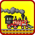 Crossy Train Simulator: Euro estación de tren icon