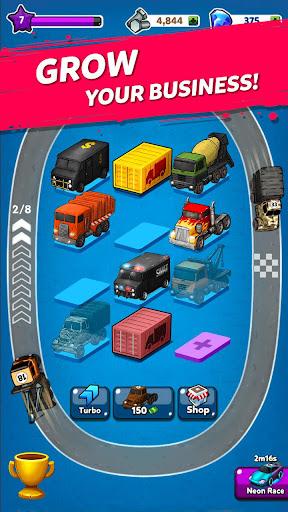 Merge Truck: Grand Truck Evolution Merger game apkpoly screenshots 7