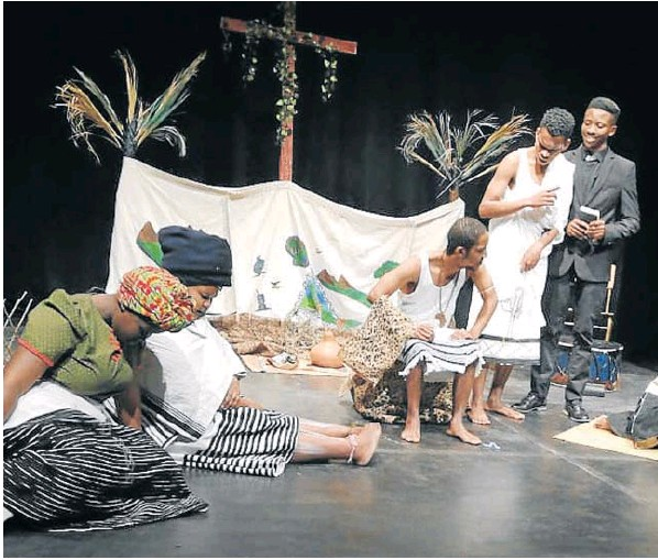 UFH's Isandi Segubu' (The Sound of the Drum) explores some deep dilemmas at the National Arts Festival.
