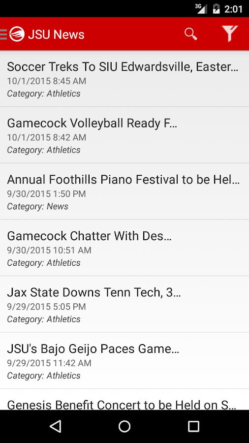 MyJSU Mobile- screenshot