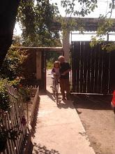 Photo: Karcsi tatával körbejártuk a falut