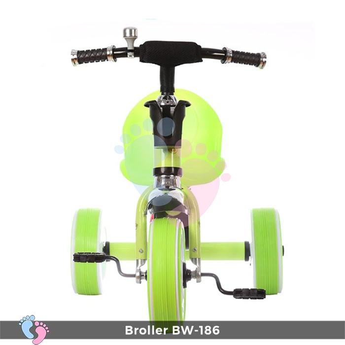 Xe đạp 3 bánh Broller XD3-186 có đèn bánh xe 7