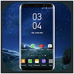 Galaxy S8 Plus Digital Clock