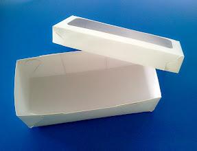 Photo: Caixa (25) com abertura na tampa (detalhes - aberta)