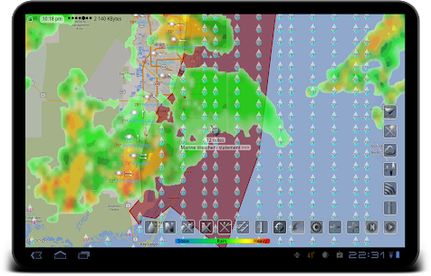 eWeather HD – clima, calidad del aire, terremotos 10