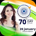 26th January Photo Editor - Republic Day Frames icon