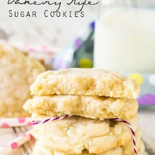 Bakery Style Sugar Cookies