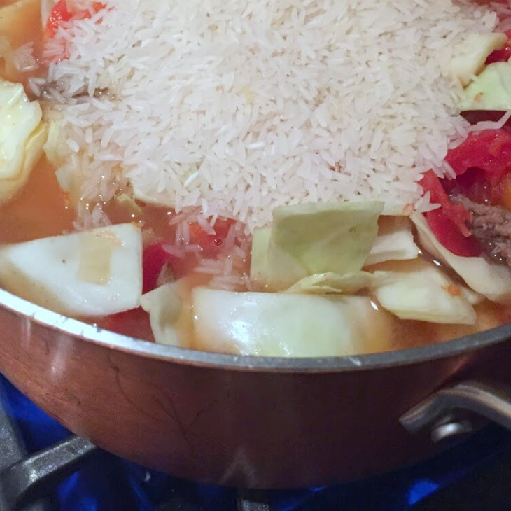 Easy and Delicious Cabbage Roll Soup
