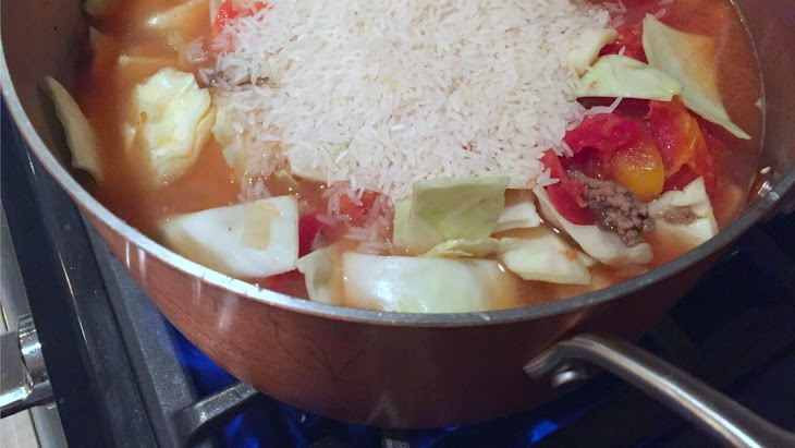 Easy and Delicious Cabbage Roll Soup Recipe