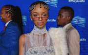 Nandi Madida at the 2018 SAMAs.
