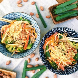 Creamy Peanut Pad Thai Recipes