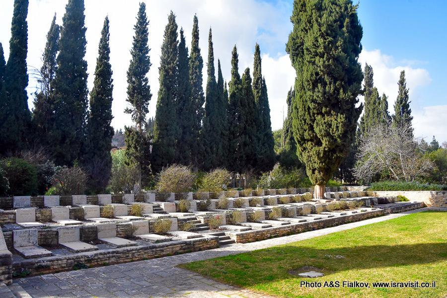 Кладбище в Кфар-Гилади.