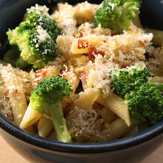 Pasta with Broccoli, Crispy Prosciutto, and Toasted Breadcrumbs