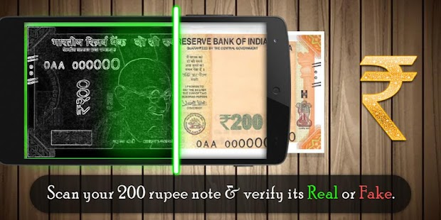 Rs 200 Rs 50 Indian Currency Detect - náhled