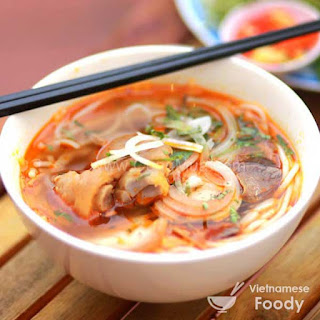 Beef and Pork Leg Noodle Soup (Bun Bo Gio Heo)