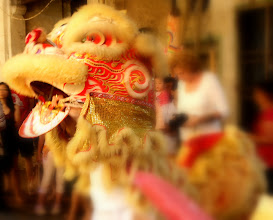 Photo: Year 2 Day 107 -   Dancing Lion at the 9 Emperor Gods Festivity #2