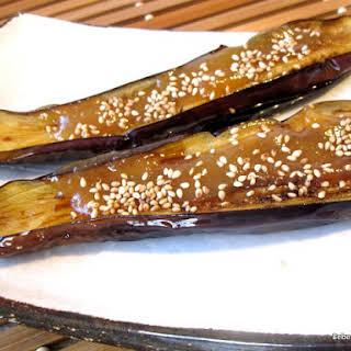 Nasu Miso (Miso Glazed Eggplant).