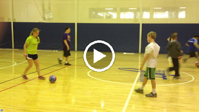 Video: TOPSoccer @ The JCC with Josh Roberts as Coach - practice, skills & drills - Social interaction