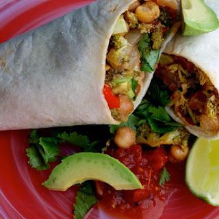 Vegetarian Chickpea Burrito Recipes.