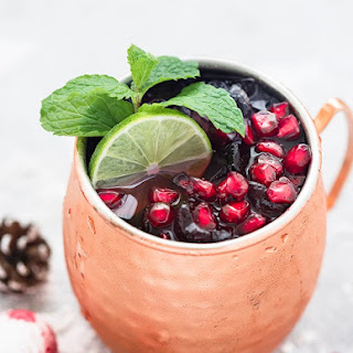 Pomegranate Moscow Mule.