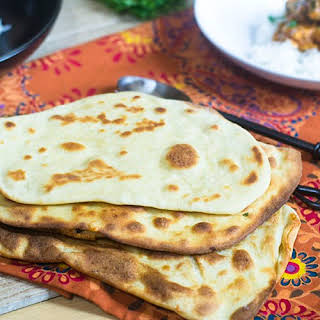 Cheese Naan Bread.