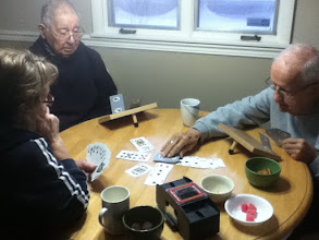 Photo: Playing cards on Saturday