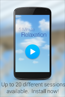 5 Minute Relaxation - Quick Guided meditation- screenshot thumbnail